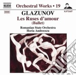 LES RUSES D'AMOUR                         cd musicale di Glazunov alexander k