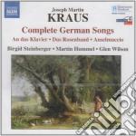 Lieder tedeschi (integrale) cd musicale di Kraus joseph martin