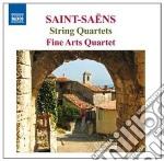 Saint-Saens - Quartetto Per Archi N.1 Op.112, N.2 Op.153 cd musicale di Camille Saint-sa�ns