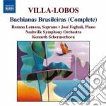 Bachianas brasileiras (complete) cd musicale di VILLA LOBOS HEITOR