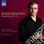 SINFONIA N.4, N.10                        cd musicale di Dmitri Sciostakovic