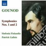 Sinfonia n.1, n.2 cd musicale di Charles Gounod