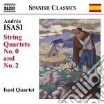 Isasi Andres - Quartetto N.0 In Mi Minore Op.83, N.2 In La Minore Op.27 cd musicale di Andres Isasi