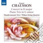 Concerto per violino, pianoforte e quart cd musicale di Ernest Chausson