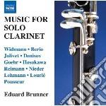 Musica per clarinetto solo cd musicale di Miscellanee