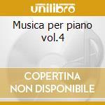 Musica per piano vol.4 cd musicale di Antonin Dvorak