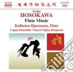 Musica per flauto cd musicale di Toshio Hosokawa