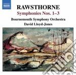 Sinfonia n.1, n.2, n.3 cd musicale di Alan Rawsthorne