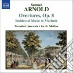 Overtures op.8, musiche di scena per il cd musicale di Samuel Arnold