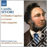Camillo Sivori - Etudes-caprices Op.25, La Genoise, Folies Espagnoles Op.29 cd musicale di Camillo Sivori