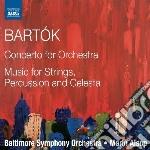 Concerto per orchestra; musica per archi cd musicale di Bela Bartok