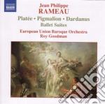 Pygmalion suite, plat????e suite, dardanus cd musicale di Rameau jean philippe