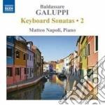 Sonate per tastiera (integrale), vol.2 cd musicale di Baldassarre Galuppi