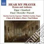 Hear my prayer (inni ed anthems) cd musicale