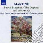 Lieder cd musicale di Bohuslav Martinu