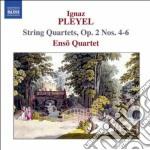 Quartetti per archi nn.4-6 op.2 cd musicale di Ignace Pleyel