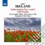 SONATA PER VIOLINO, SONATA PER VIOLONCEL  cd musicale di John Ireland