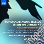 Shakespeare overture, vol.1 cd musicale di Tedesco Castelnuovo