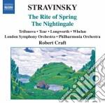 Sagra della primavera, the nightingale ( cd musicale di Igor Stravinsky
