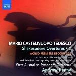 Castelnuovo Tedesco Mario - Shakespeare Overtures, Vol.2 cd musicale di Tedesco Castelnuovo