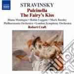 Pulcinella, le baiser de la fee cd musicale di Igor Stravinsky