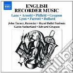 ENGLISH RECORDER MUSIC                    cd musicale di Miscellanee