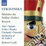 Histoire du soldat, renard, 3 pezzi per cd musicale di Igor Stravinsky