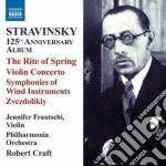 La sagra della primavera, concerto per v cd musicale di Igor Stravinsky