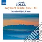 Sonate per clavicembalo nn.1-15 cd musicale di Antonio Soler