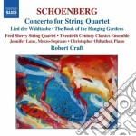 Conc.for string quartet cd musicale di SCHOENBERG