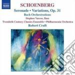 Variazioni per orchestra op.31, serenata cd musicale di Arnold Schoenberg