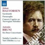 Sarabande con variazioni, passacaglia, c cd musicale di Johan Halvorsen