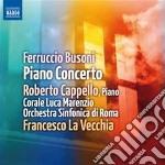 Concerto per pianoforte cd musicale di Ferruccio Busoni