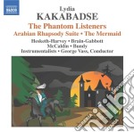 The phantom listeners, the mermaid, russ cd musicale di Lydia Kakabadse