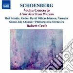 Concerto per violino vol.10 cd musicale di Arnold Schoenberg