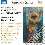 Fanfare, capriccio and rhapsody cd musicale di Miscellanee