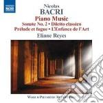 Opere per pianoforte cd musicale di Nicolas Bacri