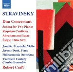 Stravinsky Igor - Duo Concertant E Altri Brani cd musicale di Igor Stravinsky