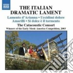 The italian dramatic lament cd musicale