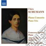 Schumann Clara - Concerto Per Pianoforte Op.7, Trio Op.17 cd musicale di Clara Schumann
