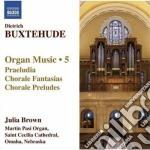 Opere per organo (integrale) vol.5 cd musicale di Dietrich Buxtehude