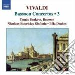 Concerti per fagotto (integrale) vol.3 cd musicale di Antonio Vivaldi