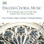 English choral music cd musicale di Miscellanee