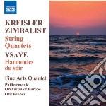 Quartetto per archi cd musicale di Fritz Kreisler