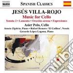Musica per violoncello cd musicale di Jes�s Villa-rojo
