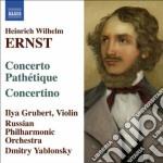Musica per violino e orchestra cd musicale di Ernst heinrich wilhe