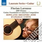 Guitar recital: florian larousse - laure cd musicale di Miscellanee