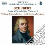 Lieder: poets of sensibility vol.3 cd musicale di Franz Schubert