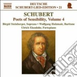Lied edition, vol.21 - poets of sensib cd musicale di Franz Schubert