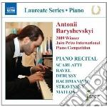Piano recital: antonii baryshevskyi - la cd musicale di Miscellanee